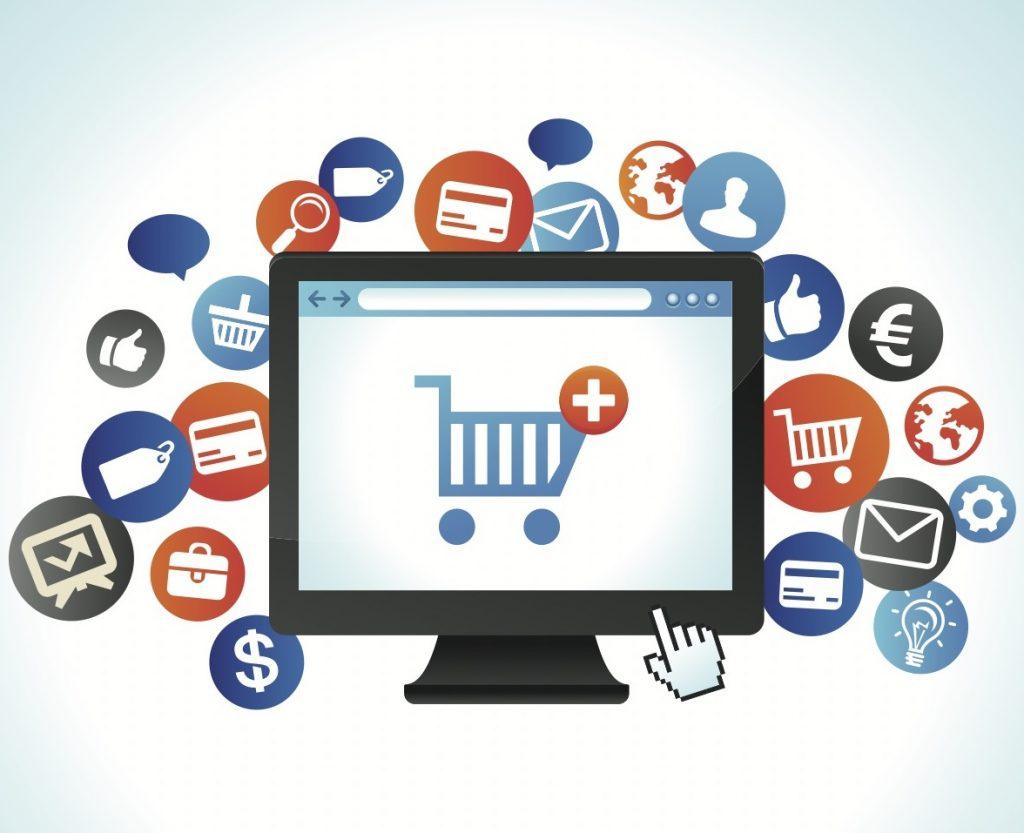 کار اینترنتی آنلاین و تجارت الکترونیک