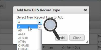 رکورد های DNS