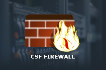 آموزش فایروال CSF سرور لینوکس