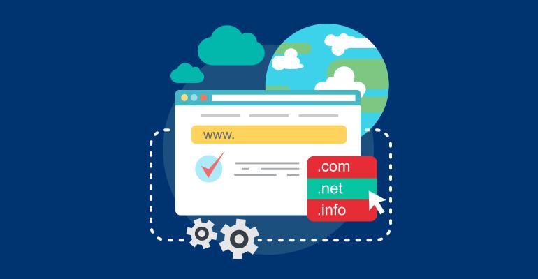 انتخاب نام دامنه اینترنتی domain