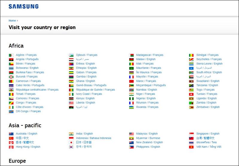 طراحی وب سایت چند زبانه حرفه ای