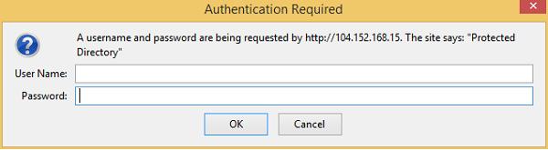 authentication احراز هویت cpanel