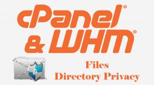 هاست لینوکس cpanel-Directory-Privacy