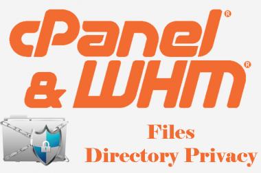 Directory Privacy در CPanel