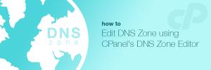 آموزش Simple Zone Editor در Cpanel