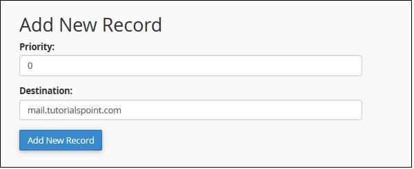 اضافه کردن رکورد جدید